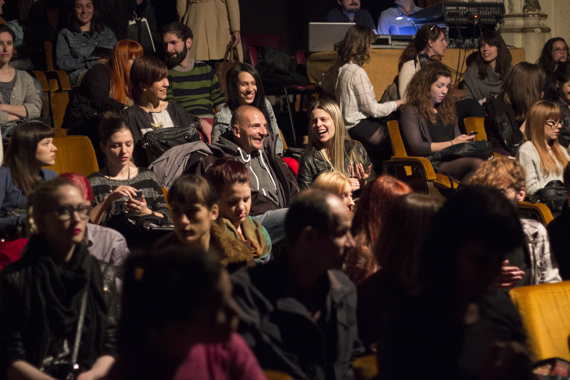 Predstava publika